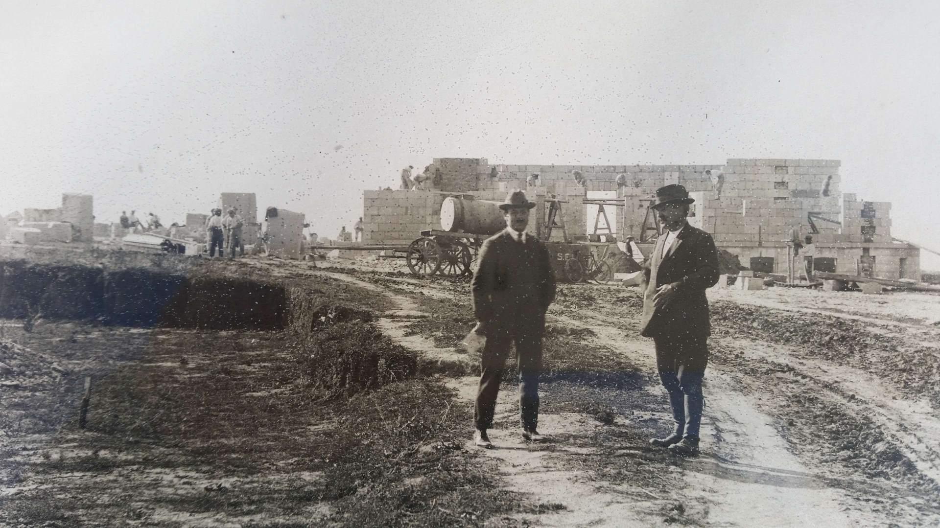 Reconstruction après-guerre Aisne