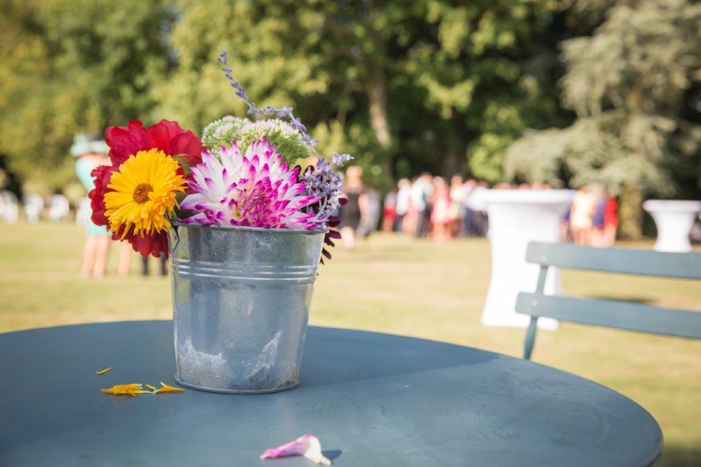 Réception cocktail fleur événement
